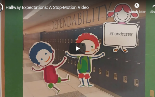 Stop-Motion Video: Hallway Expectations