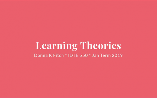 Learning Theories Infographic