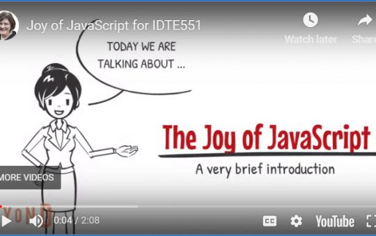 Joy of JavaScript: A Conversion